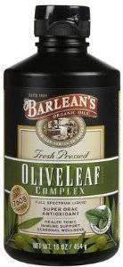 Barleans - Barleans Olive Leaf Complex Peppermint 16 oz