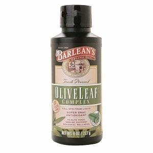 Barleans - Barleans Olive Leaf Complex Peppermint 8 oz