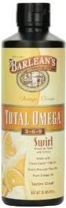 Barleans - Barleans Orange Cream Total Omega Swirl 16 oz