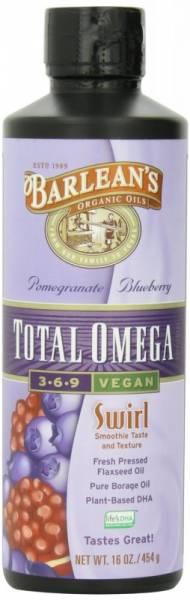 Barleans - Barleans Pomegranate/Blueberry Total Omega Vegan Swirl 16 oz