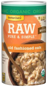 Better Oats - Better Oats Raw Pure & Simple Old Fashioned Oats 16 oz (6 Pack)