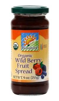 Bionaturae - Bionaturae Organic Fruit Spread Wild Berry 9 oz (12 Pack)