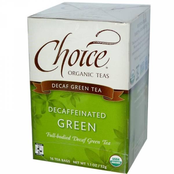 Choice Organic Teas - Choice Organic Teas Decaffeinated Green (16 bags)