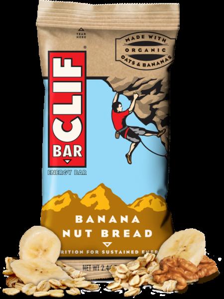 Clif Bar - Clif Bar Clif Bar 2.4 oz- Banana Nut Bread (12 Pack)
