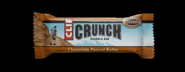 Clif Bar - Clif Bar Crunch Granola Bar Chocolate Peanut Butter 1.5 oz (12 Pack)