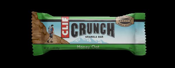 Clif Bar - Clif Bar Crunch Granola Bar Honey Oat 1.5 oz (12 Pack)