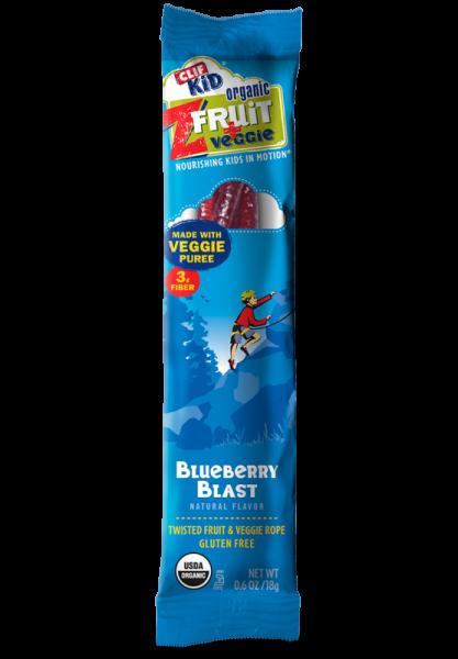 Clif Bar - Clif Bar Kid Z Fruit + Veggie Blueberry Blast 0.7 oz (6 Pack)