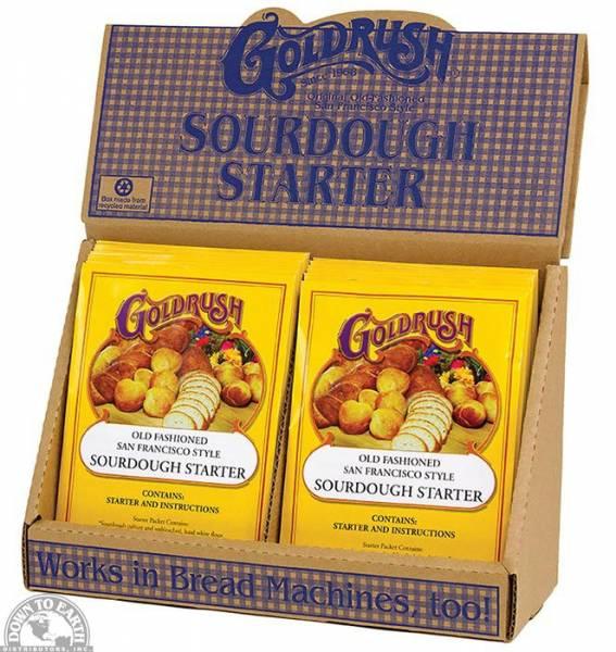 Down To Earth - Goldrush Sourdough Starter Packet