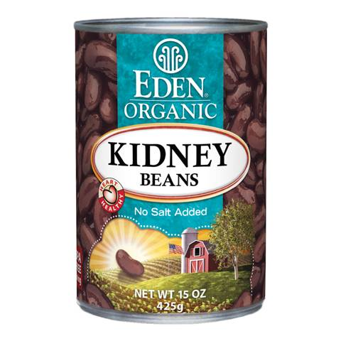Eden Foods - Eden Foods Organic Kidney Beans 15 oz (6 Pack)