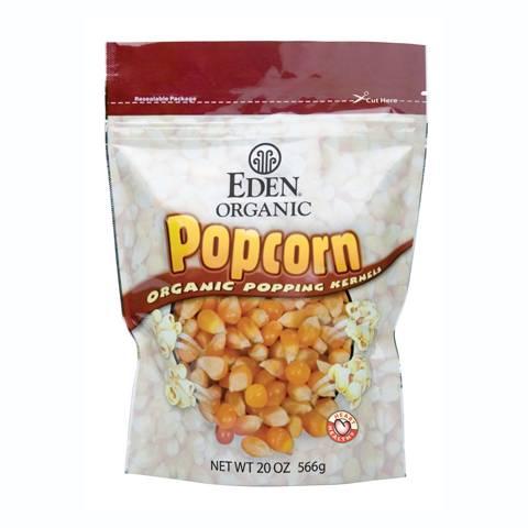 Eden Foods - Eden Foods Organic Yellow Popcorn 20 oz (6 Pack)