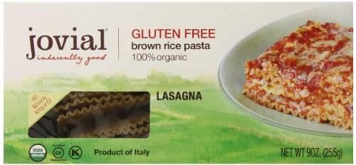 Jovial - Jovial Organic Brown Rice Lasagna Pasta 12 oz (12 Pack)