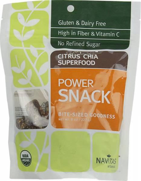 Navitas Naturals - Navitas Naturals Superfood Snack 8 oz - Citrus/Chia