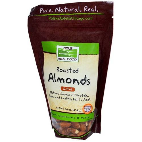 Now Foods - Now Foods Almonds Roasted & Salted 1 lb