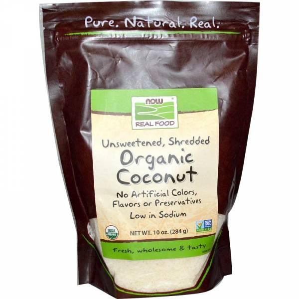 Now Foods - Now Foods Coconut Organic Shredded 10 oz