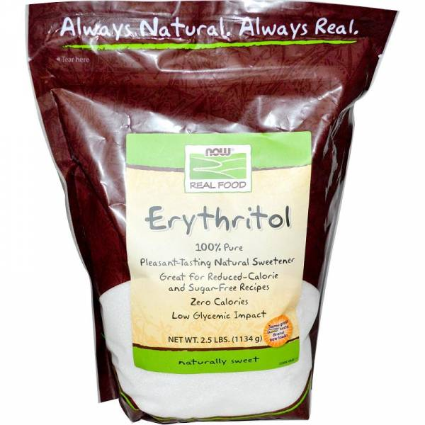 Now Foods - Now Foods Erythritol 2.5 lb