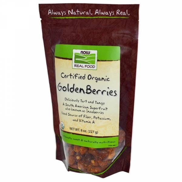 Now Foods - Now Foods Golden Berries Certified Organic 8 oz