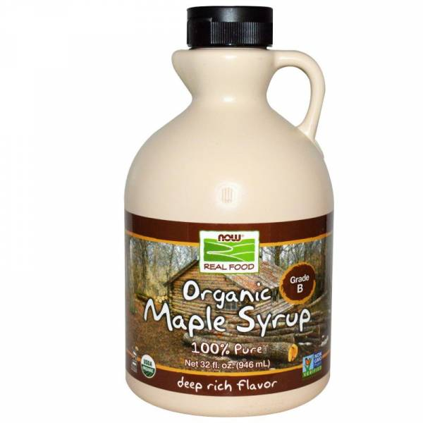 Now Foods - Now Foods Maple Syrup Grade A 32 oz