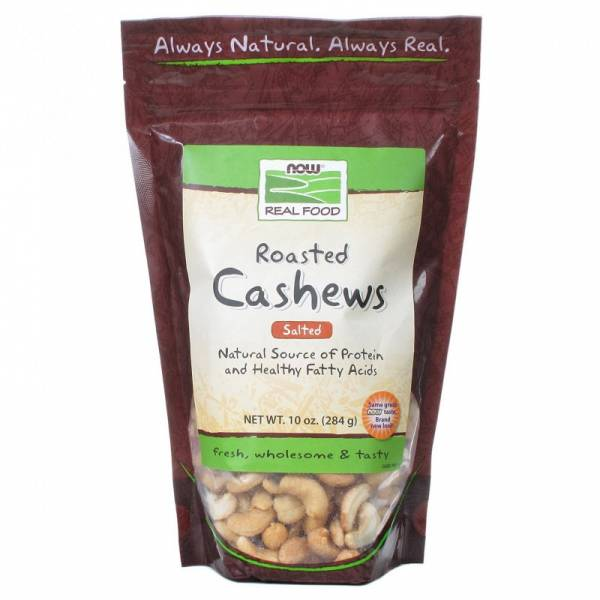 Now Foods - Now Foods Roasted and Salted Cashews 10 oz