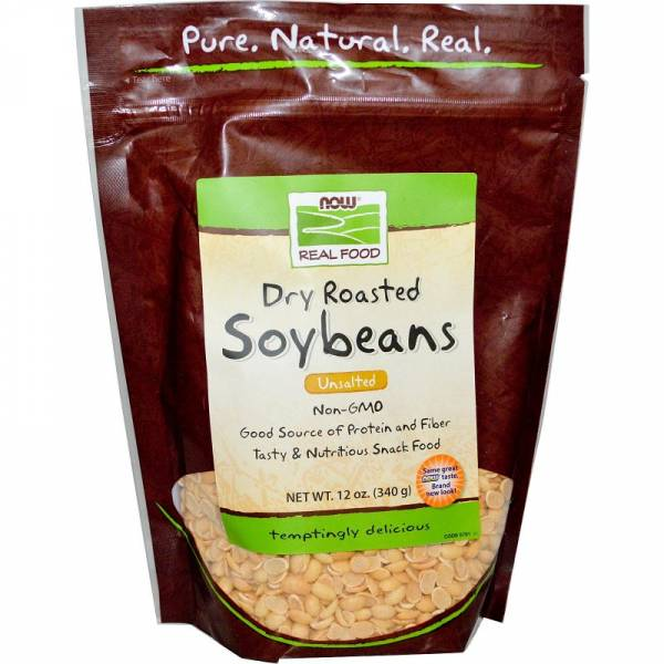 Now Foods - Now Foods Soybeans Unsalted 12 oz