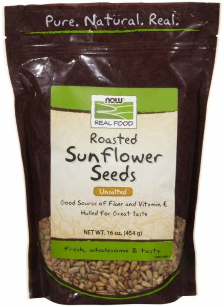 Now Foods - Now Foods Sunflower Seeds Roasted Unsalted 1 lb