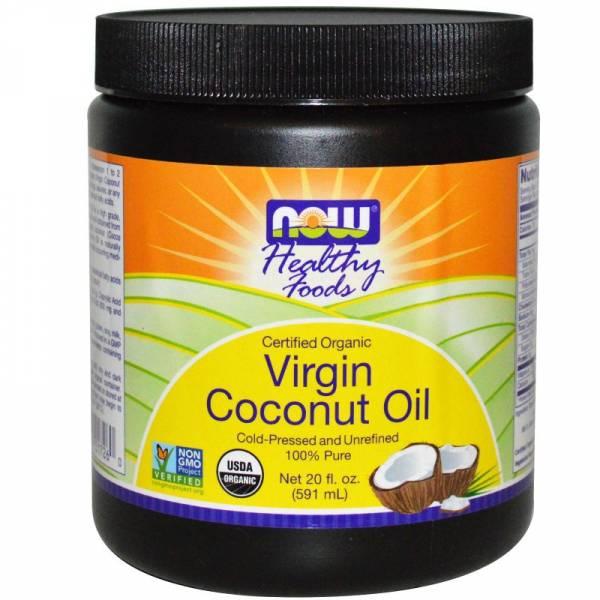 Now Foods - Now Foods Virgin Coconut Oil Certified Organic 20 oz