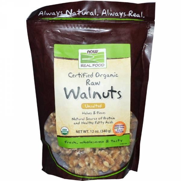 Now Foods - Now Foods Walnuts Certified Organic 12 oz