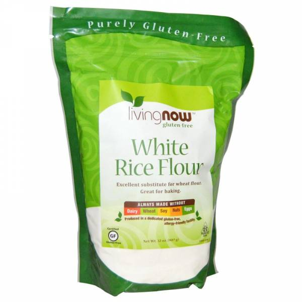Now Foods - Now Foods White Rice Flour - 32 oz