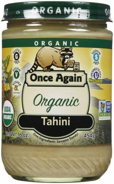Once Again - Once Again Organic Tahini 16 oz - Roasted (6 Pack)