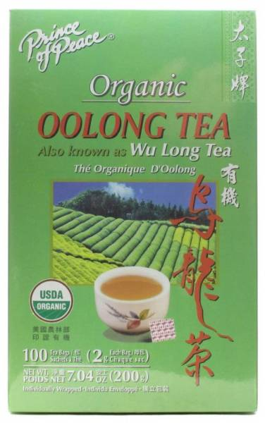 Prince Of Peace - Prince Of Peace Organic Oolong Tea 100 bag