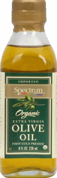 Spectrum Naturals - Spectrum Naturals Organic Unrefined Extra Virgin Olive Oil 8 oz (6 Pack)