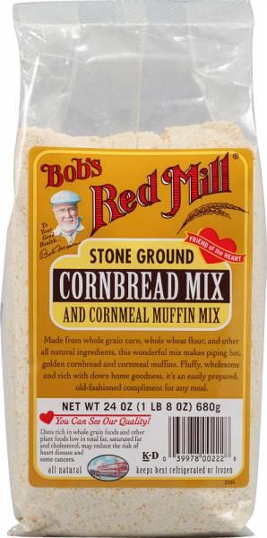 Bob's Red Mill - Bob's Red Mill Cornbread Mix 24 oz (4 Pack)
