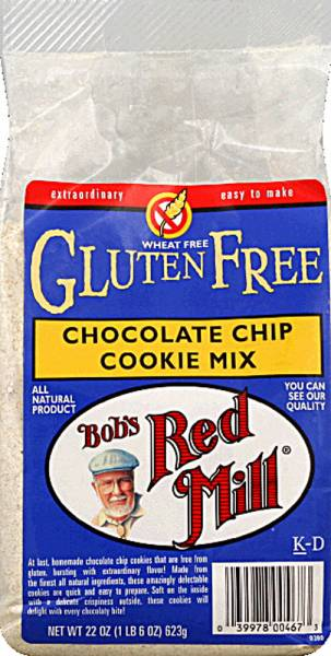 Bob's Red Mill - Bob's Red Mill Gluten Free Chocolate Chip Cookie Mix 22 oz (4 Pack)