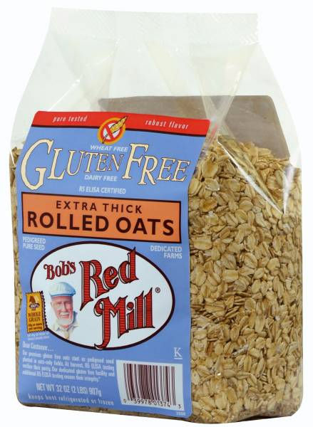 Bob's Red Mill - Bob's Red Mill Gluten Free Thick Rolled Oats 32 oz (4 Pack)