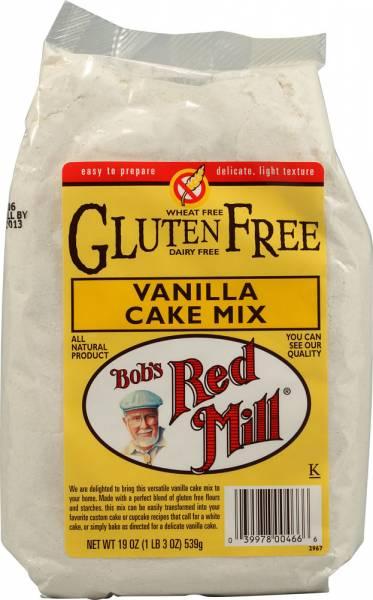 Bob's Red Mill - Bob's Red Mill Gluten Free Vanilla Cake Mix 19 oz (4 Pack)