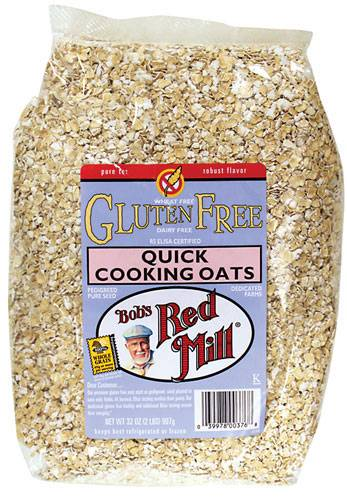 Bob's Red Mill - Bob's Red Mill Gluten Free Quick Cooking Oats 32 oz (4 Pack)