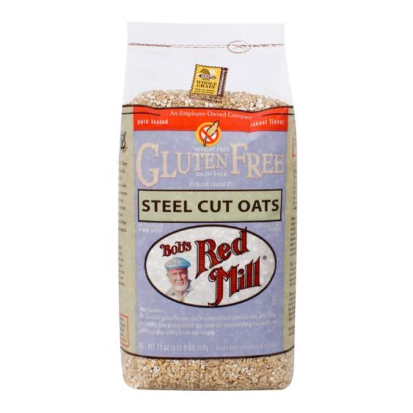 Bob's Red Mill - Bob's Red Mill Gluten Free Steel Cut Oats 24 oz (4 Pack)
