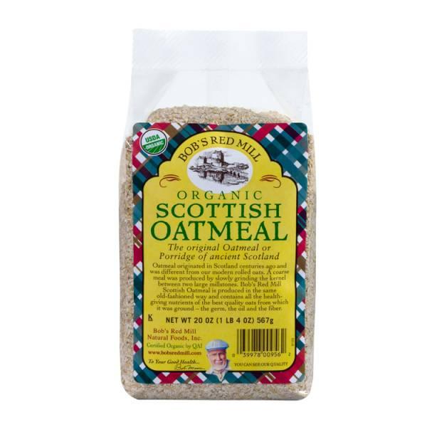 Bob's Red Mill - Bob's Red Mill Organic Scottish Oatmeal 20 oz (4 Pack)