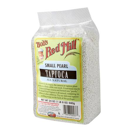 Bob's Red Mill - Bob's Red Mill Small Pearl Tapioca 24 oz (4 Pack)