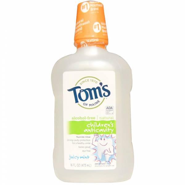 Tom'S Of Maine - Tom's Of Maine Anticavity Juicy Mint Fluoride Rinse 16 oz