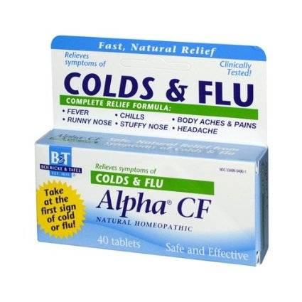 Boericke & Tafel - Boericke & Tafel Alpha CF Colds & Flu 40 tab