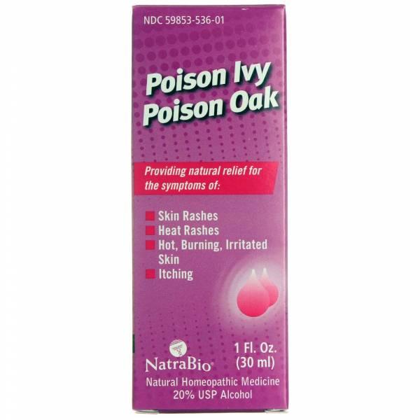 Natra-Bio/Botanical Labs - Natra-Bio Poison Ivy & Oak Relief 1 oz