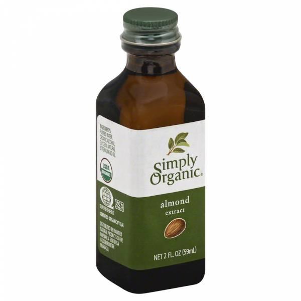 Simply Organic - Simply Organic Almond Extract 2 oz