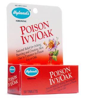 Hylands - Hylands Poison Ivy/Oak Tablets 50 tab