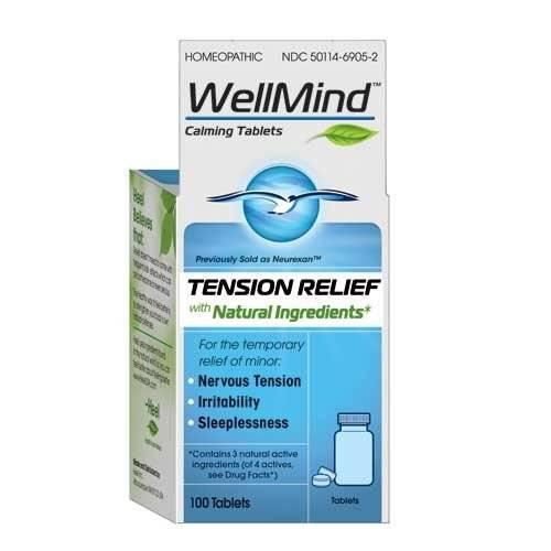 Heel/Bhi - Heel/Bhi WellMind Calming Tablets 100 tab