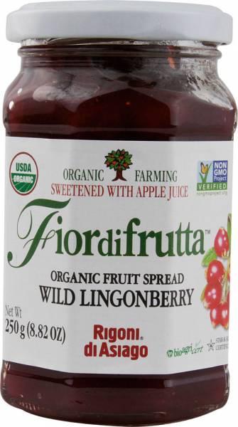 Rigoni Di Asagio - Rigoni Di Asagio Organic Wild Lingonberry Spread 8.82 oz