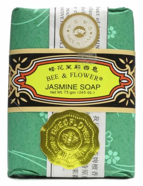 Bee & Flower Soaps - Bee & Flower Soaps Bar Soap Jasmine 2.65 oz (2 Pack)