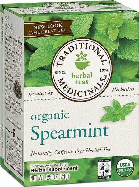 Traditional Medicinals - Traditional Medicinals Organic Spearmint 16 bag (2 Pack)