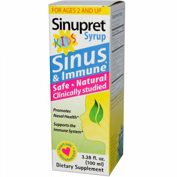 Bionorica - Bionorica Sinupret Kids Syrup 3.38 oz
