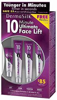 Dermasilk - 10 Minute Face Lift Cream Kit