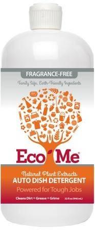 Eco Me - Eco Me Auto Dishwasher Detergent Fragrance Free 32 oz